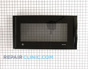 Microwave Oven Door - Part # 1087855 Mfg Part # WB56X10430