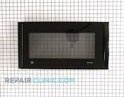 Microwave Oven Door - Part # 1087855 Mfg Part # WB56X10430
