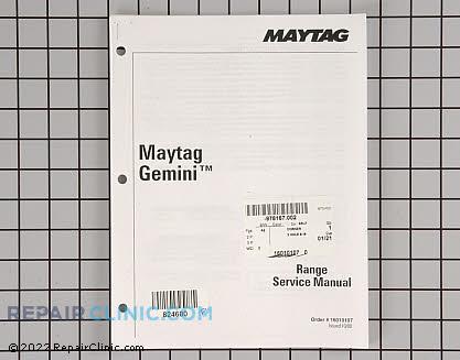 Repair Manual 16010107        Main Product View