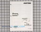 Repair Manual - Part # 824600 Mfg Part # 16010107