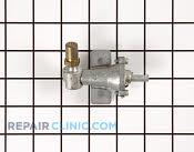 Gas Burner & Control Valve - Part # 707258 Mfg Part # 7502P033-60