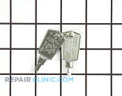 Door Key - Part # 1169579 Mfg Part # WR05X10027