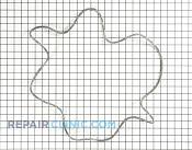 Tub Seal - Part # 1168663 Mfg Part # WH08X10023