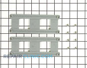 Dishrack Ball Bearing Cage - Part # 1394379 Mfg Part # 8801349-77