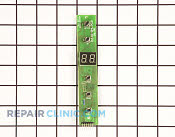 Display Board - Part # 1399410 Mfg Part # MCWC8DSCT-03