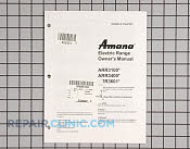 Mnl, owners  (artc75 - Part # 502421 Mfg Part # 31847301