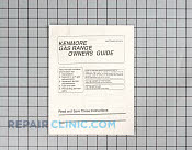 Manuals, Care Guides & Literature - Part # 493736 Mfg Part # 316000900