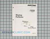 Manuals, Care Guides & Literature - Part # 1156595 Mfg Part # 16023116