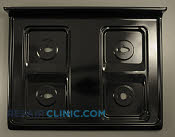 Metal Cooktop - Part # 1037695 Mfg Part # 316202353