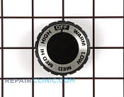 Control Knob - Part # 256984 Mfg Part # WB3X5479