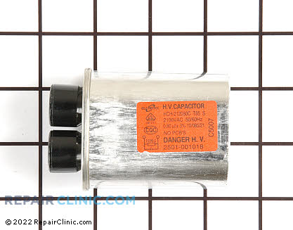 High Voltage Capacitor WB27X10102 Main Product View