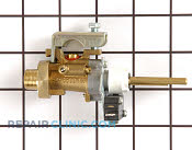 Gas Burner & Control Valve - Part # 756825 Mfg Part # 86558