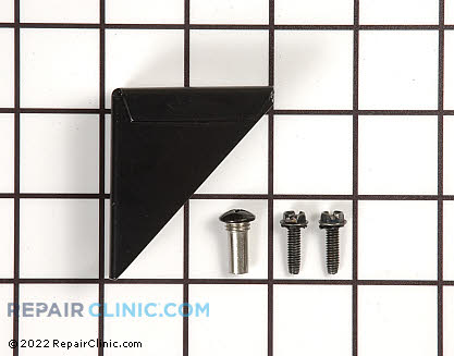 Bottom Hinge 11624-1-S-BLK   Main Product View
