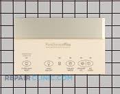 Dispenser Overlay - Part # 775610 Mfg Part # 218903705