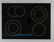 Glass Cooktop - Part # 1181509 Mfg Part # 9759983BL