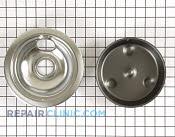 Burner Drip Bowl kit - Part # 1013728 Mfg Part # 00486105