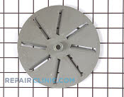 Blower Wheel & Fan Blade - Part # 1028660 Mfg Part # 00485892