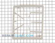 Grate, sgcs, single, gray semigloss - Part # 1042722 Mfg Part # 00142543