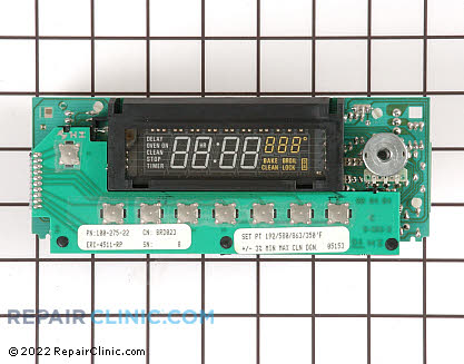 Oven Control Board WB19X267 Main Product View