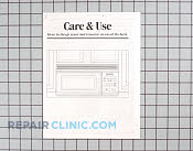 Manuals, Care Guides & Literature - Part # 597480 Mfg Part # 49-8376