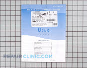 Manuals, Care Guides & Literature - Part # 1024912 Mfg Part # 62728660