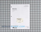 Repair Manual - Part # 800484 Mfg Part # RS2510002