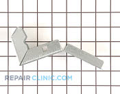Bracket & Flange - Part # 590273 Mfg Part # 4455177
