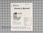 Manuals, Care Guides & Literature - Part # 1023113 Mfg Part # 32060701