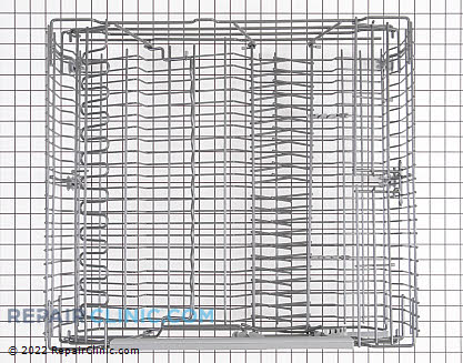 Upper Dishrack Assembly 8801315-36 Main Product View