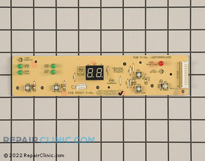 User Control and Display Board 6871A20600A Main Product View