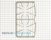 Burner Grate - Part # 1064531 Mfg Part # 316424605