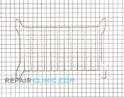 Oven Rack - Part # 1177505 Mfg Part # 8205549