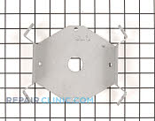 Bracket & Flange - Part # 754647 Mfg Part # 26174