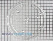 Glass Tray, Coupler & Support Roller - Part # 940515 Mfg Part # 441X355A10
