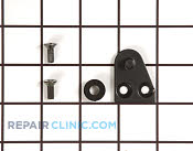 Top Hinge - Part # 1053696 Mfg Part # 1848A-S-BLK