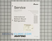 Manuals, Care Guides & Literature - Part # 1405280 Mfg Part # 16023324
