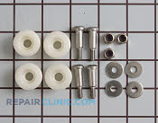 Dishrack Roller Assembly - Part # 273658 Mfg Part # WD35X185