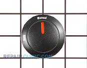 Knob, Dial & Button - Part # 341133 Mfg Part # 0300707