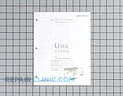 Manual, use & care - Part # 894960 Mfg Part # 74005527