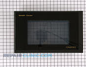 Microwave Oven Door - Part # 1913357 Mfg Part # CDORFB145MRK0