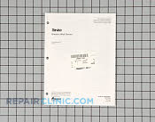 Manuals, Care Guides & Literature - Part # 219940 Mfg Part # RS2520001