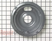6 Inch Burner Drip Bowl - Part # 257928 Mfg Part # WB31K5043