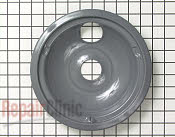 8 Inch Burner Drip Bowl - Part # 257927 Mfg Part # WB31K5042