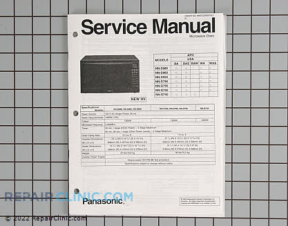 Repair Manual SMNNS950WA Main Product View