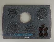 Glass Cooktop - Part # 829576 Mfg Part # 4455584