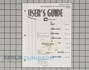Manuals, Care Guides & Literature - Part # 785864 Mfg Part # 74005247