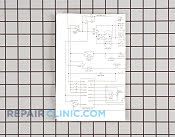 Wiring Diagram - Part # 949373 Mfg Part # 134185500