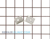 Bracket & Flange - Part # 247533 Mfg Part # WB2K5164