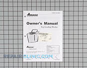 Manuals, Care Guides & Literature - Part # 1023001 Mfg Part # 40118601