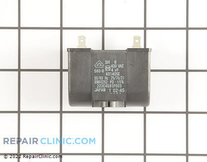 Capacitor WR62X10013 Main Product View